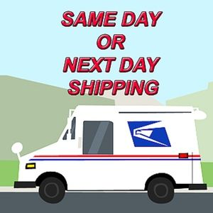 Other - Same Day or Next Day Shipping